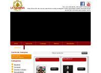 Sitio web de Merceria la Cadena