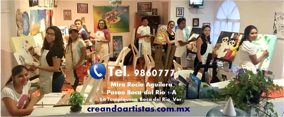 Taller de Dibujo y Pintura Creando Artistas Boca del Rio Paseo