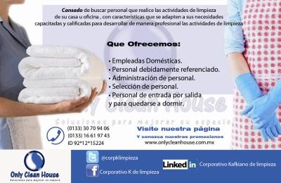 Only clean guadalajara guadalajara descuento oferta - Limpiezas de casas ...