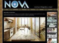 Sitio web de Cocinas Nova