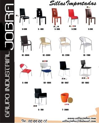 Sillas jobra zapopan av tabachines 4237 013330442 for Fabricantes sillas modernas