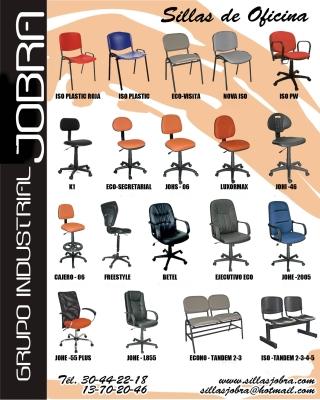Sillas jobra zapopan av tabachines 4237 013330442 for Fabrica de sillas para oficina