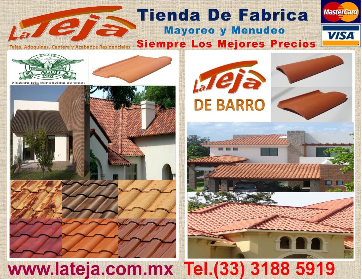 La teja guadalajara periferico sur 875 01 33 3125 3 - Precio de tejas ...