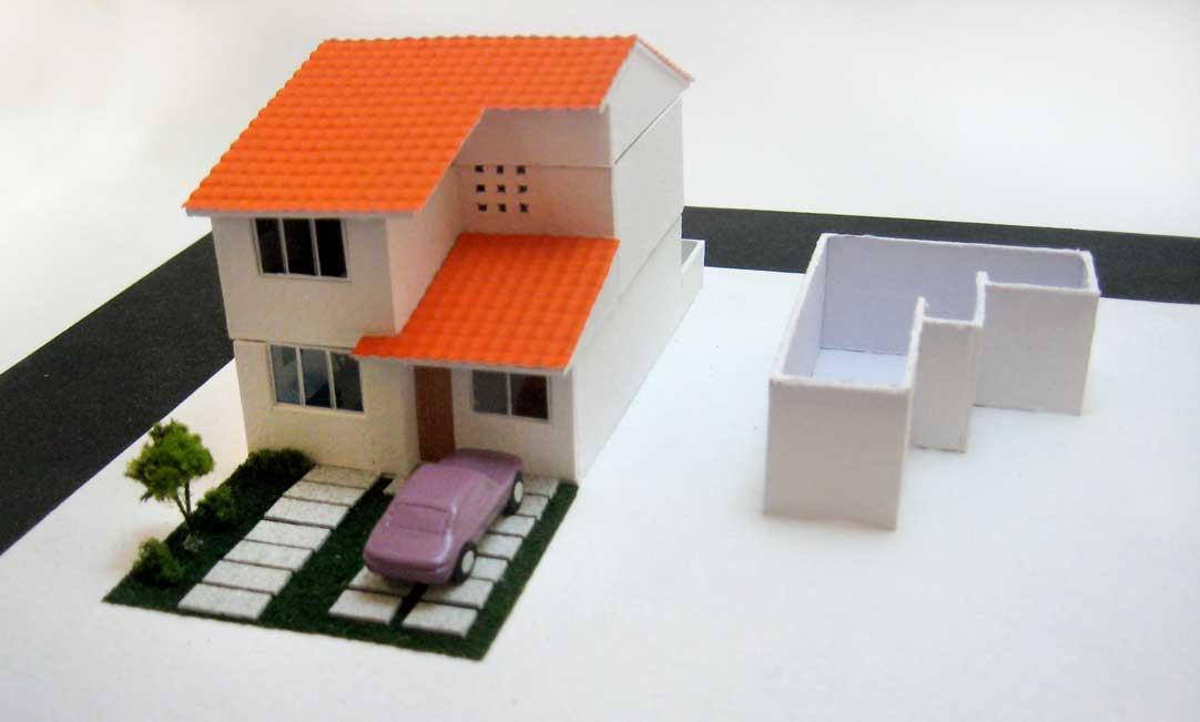 Como hacer una maqueta de una casa para la escuela - Como hacer una maqueta de una casa ...