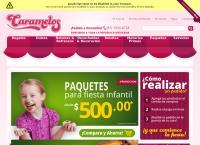 Sitio web de Caramelos