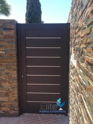 Puertas automaticas elite saltillo matamoros nte 1251 a for Puertas metalicas para patio
