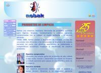 Sitio web de Nobak de Occidente S.a. de C.v