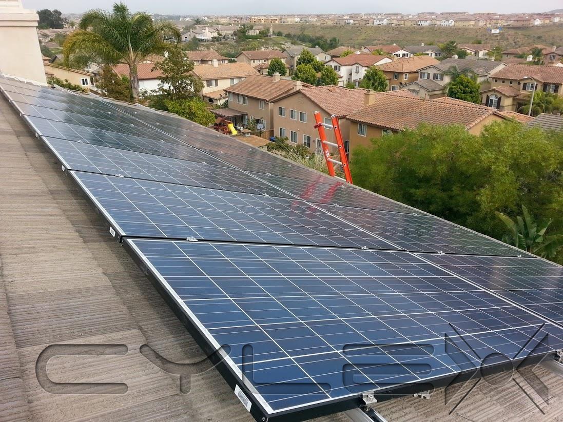 Placas Solares Para Una Casa Excellent Aislada En Murcia