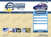 Sitio web de Tintoreria La Europea