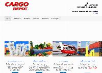 Sitio web de CargoDepot