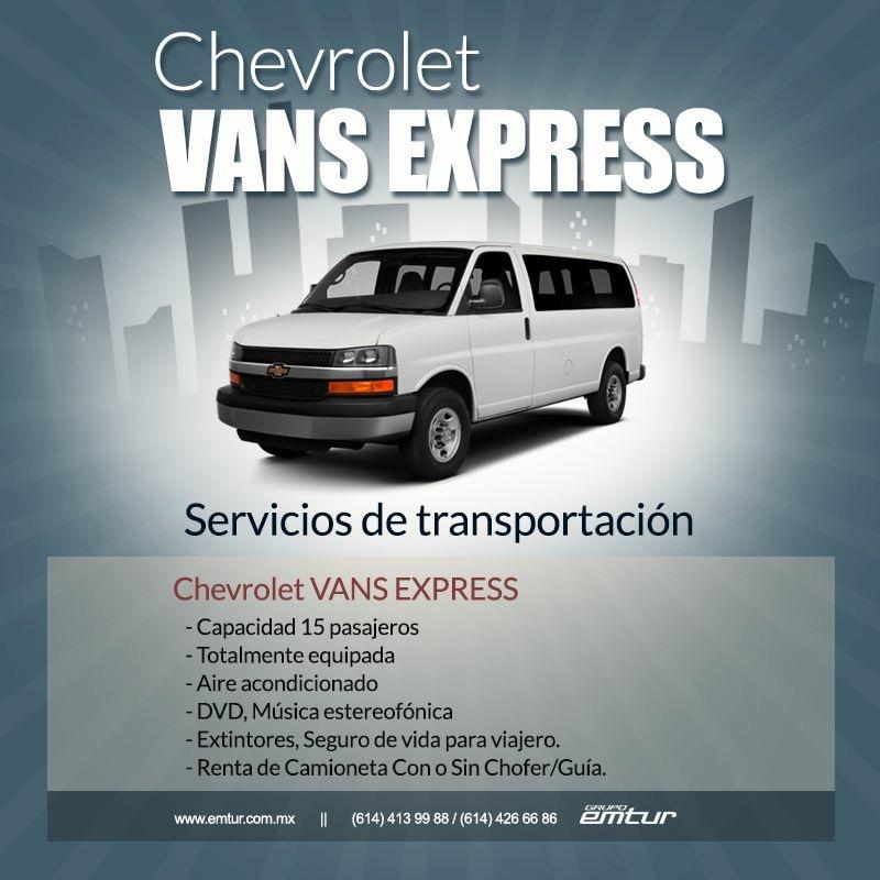 Grupo Emtur Renta De Autobuses Y Vans En Chihuahua