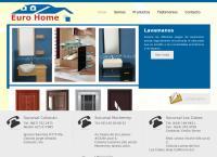Sitio web de Comercializadora Eurohome S.a. de C. V.