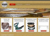 Sitio web de International Staple Machine