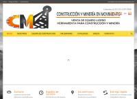 Sitio web de Construccion y Mineria en Movimiento