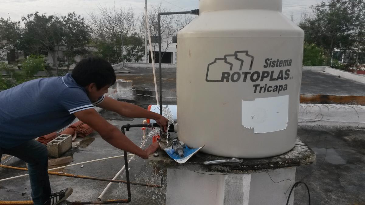 Instalacion de tinaco