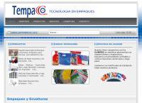 Sitio web de Tecnología en Empaques Comerciales