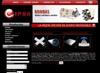 Sitio web de Cipsa
