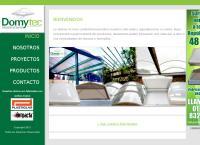 Sitio web de Domytec