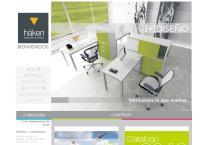 Sitio web de Häken Mobiliario de Oficina