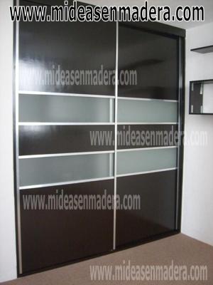 Muebles e ideas en madera distrito federal francisco for Closets minimalistas df