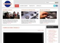 Sitio web de Fabricaciones Modelo S.A de C.V