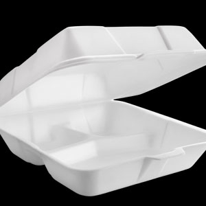 Plato plastico desechable