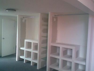 Tablaroca perez asociados xalapa enr quez av lazaro for Modelos de closet para habitaciones en cemento