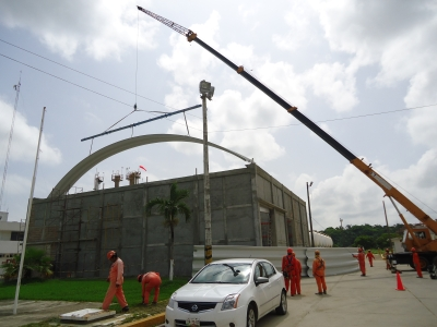 Dise o y construccion de obra civil s a de c v - Diseno nave industrial ...