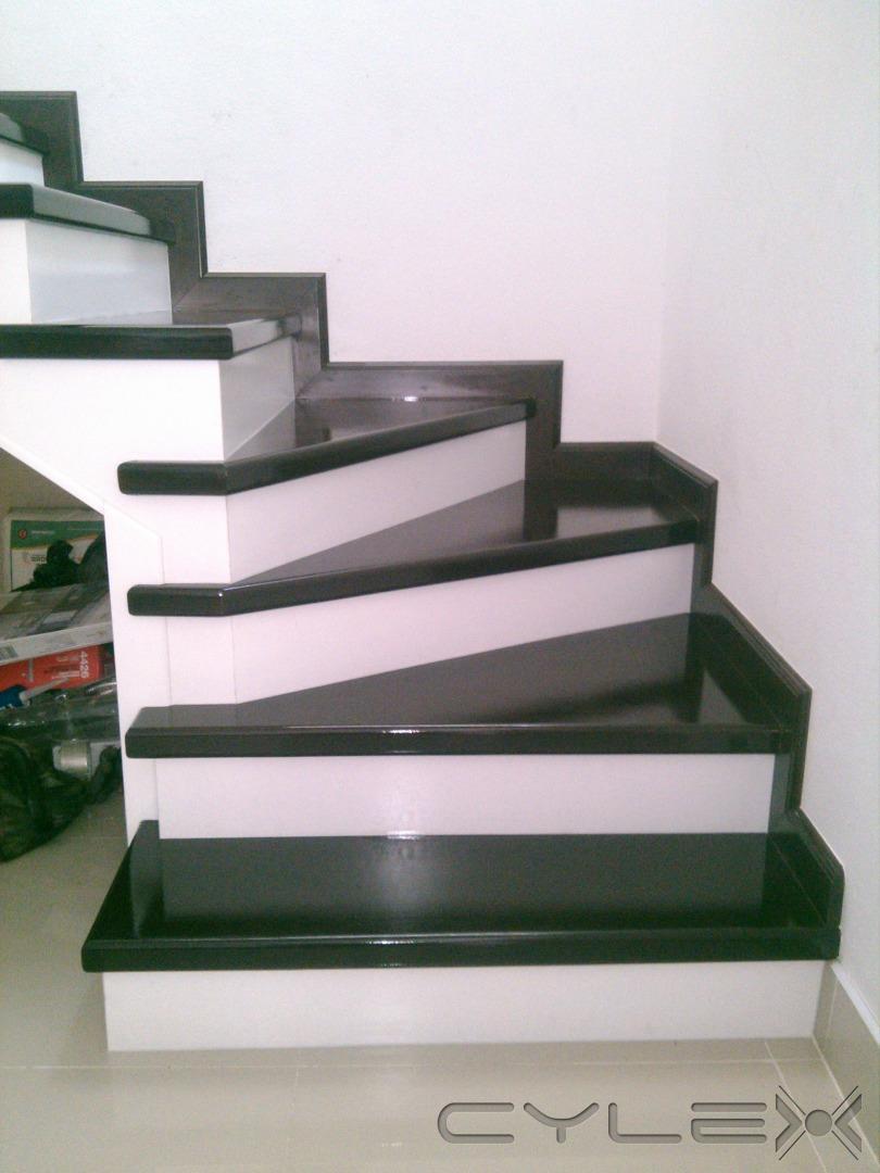Elegance decoraiones tijuana av 20 de noviembre 12588 for Pisos para escaleras de concreto