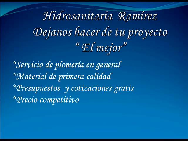 PLOMEROS; PLOMEROS EN TOLUCA
