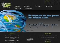 Sitio web de GF Comunicacion