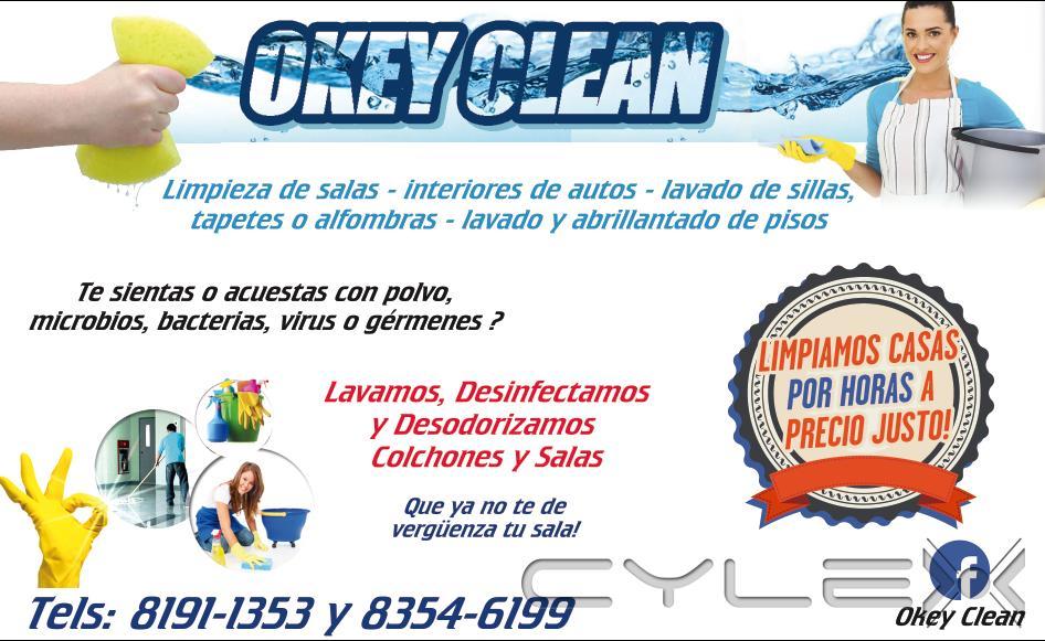 Okey clean monterrey lucio blanco 1410 a 83 54 61 - Limpieza de alfombras en casa ...