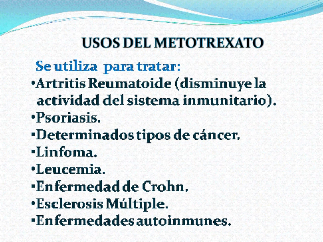 Metrotexate - Metrotexato