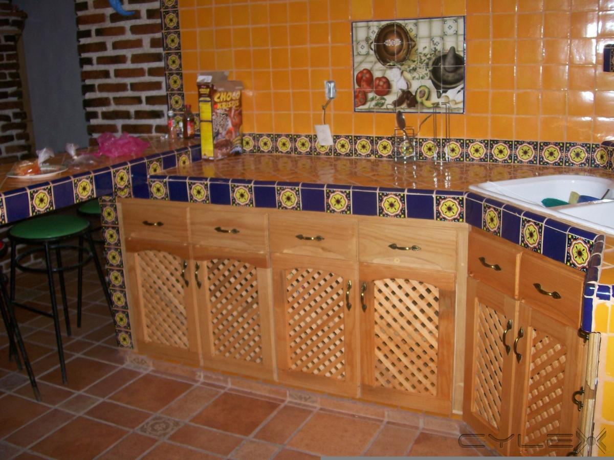 R sticos artesanales ciudad de m xico av divisi n del for Azulejos de cocina rusticos
