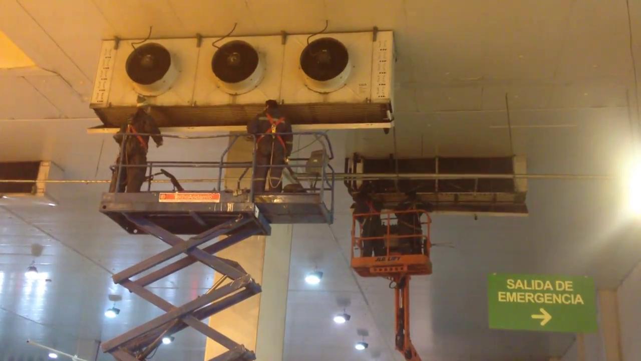 Limpieza Refrigeración a Evaporadores
