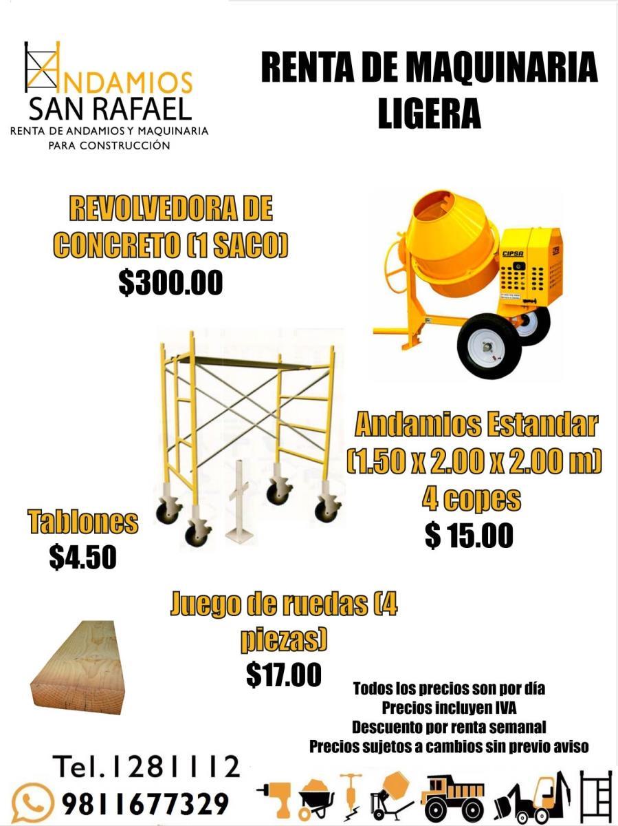 Andamios san rafael san francisco de campeche calle 6 no for Alquiler de andamios precios