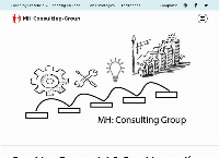 Sitio web de MH Business Consulting Partners