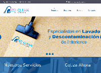 Sitio web de Red Clean Services